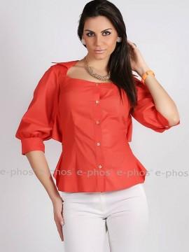 Дамска риза с дантелен гръб
