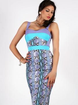 Вталена дамска рокля