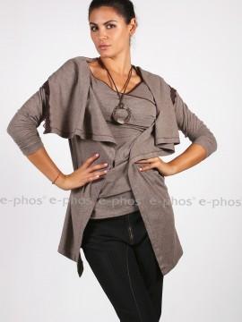 Дамска блуза с елек