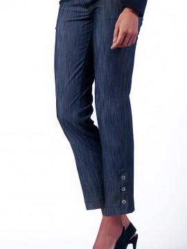 Елегантен дамски панталон от фин деним