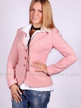 Елегантно дамско сако от вълнено букле