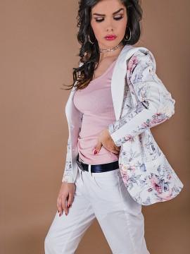 Спортно елегантно сако с качулка