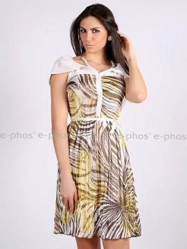 Дамска рокля с качулка