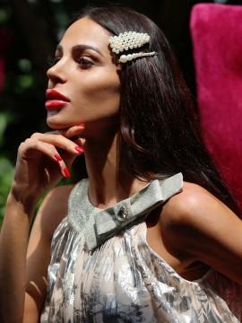Кокетна рокля от солей с красива панделка