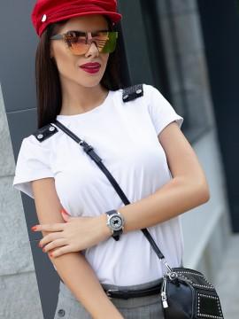 Дамска блуза с пагони