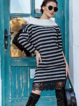 Дамска рокля от плетиво