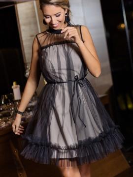 Парти рокля с тюл