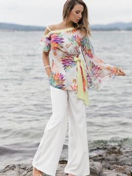Елегантна дамска туника с ръкав солей