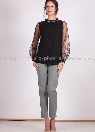 Елегантна риза с бродерии