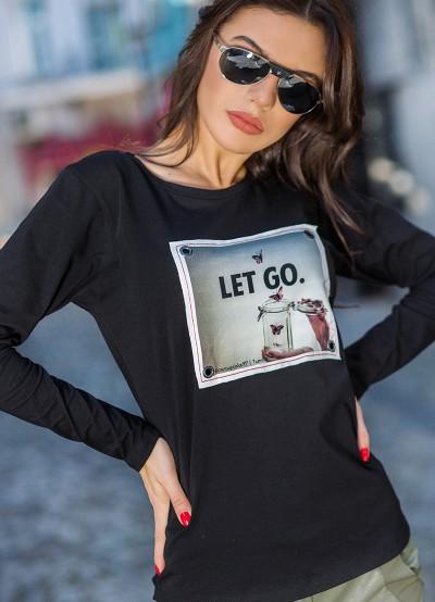 Дамска блуза със щампа/апликация