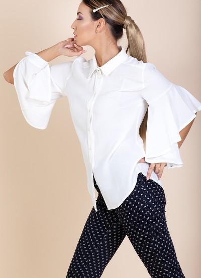 Дамска риза с отворен ръкав
