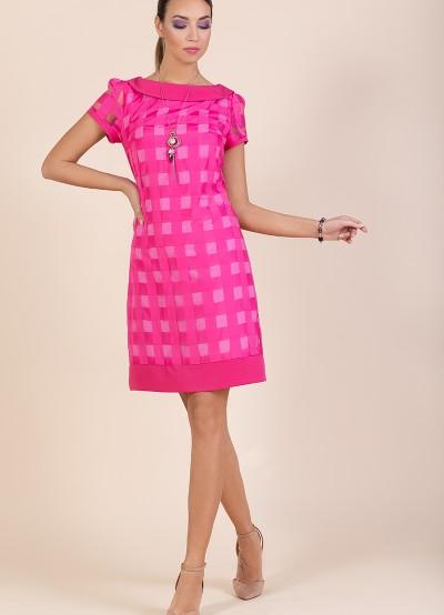 Стилна рокля от органза