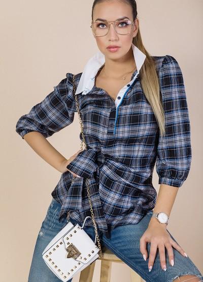 Дамска риза каре