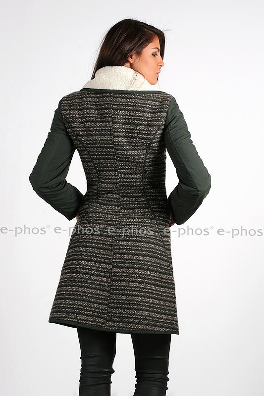 1d74c94833d Дамско палто с цип - Ephos България - Онлайн магазин за уникални ...