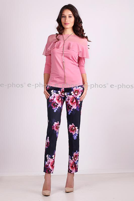 Панталон с принт на цветя