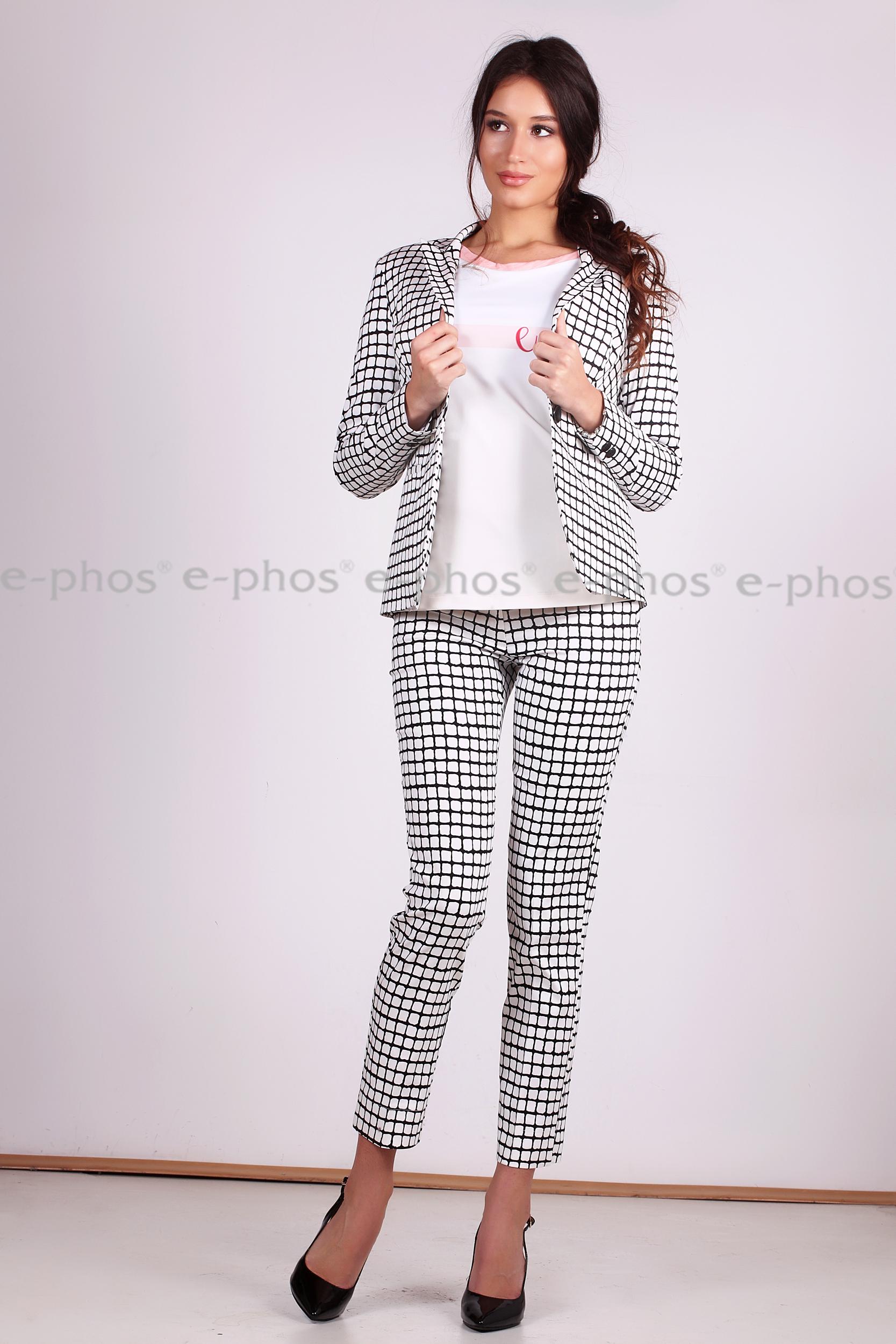 Елегантен панталон с малка цепка
