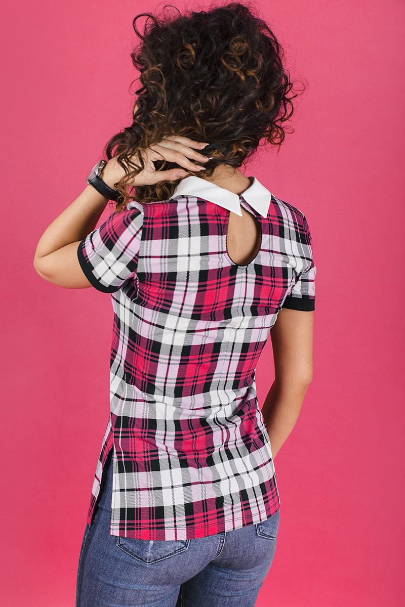 Дамска блуза каре