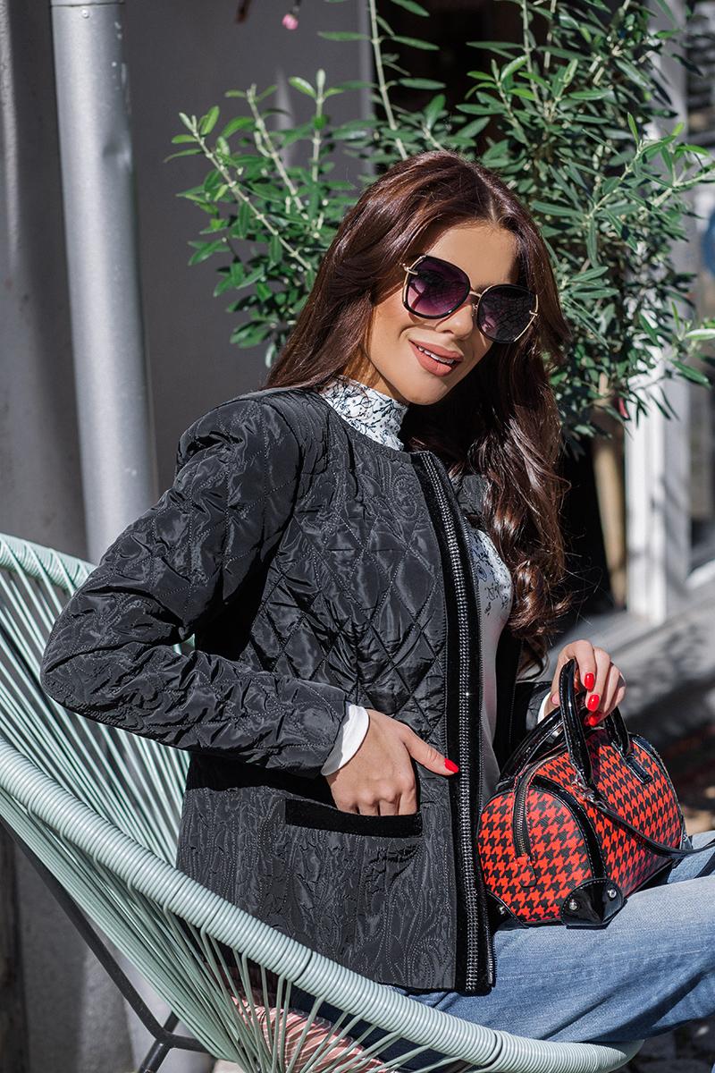 Елегантно дамско ватирано яке